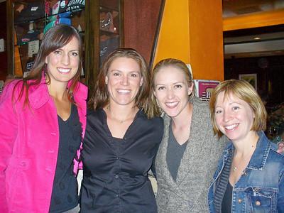 Kristin, Jill, Ari, Crissy