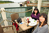 Lunch on the waterfront at La Conner