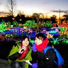 At Bellevue Botanical Gardens - annual Garden d'Lights.
