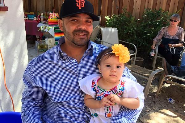 Jocelyn's 1st Birthday 07-16-2016