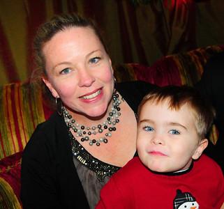 Joelle at Teddy Bear Suite 12-7-11