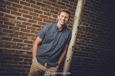 071617 Joey Johnson Senior Portrait Session