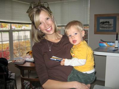 Johanna and Connor Visit Utah 10/2005