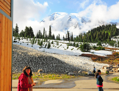 Mt. Rainier July 15, 2012