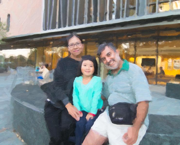 00aFavorite 20161029 (1824) Juan, Sophie, and Dilip after Intl Frndschp Pgm reception [SnapArt]