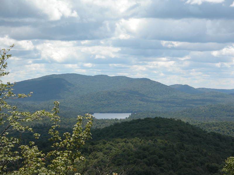 Panther Mountain Hike - the view from the top