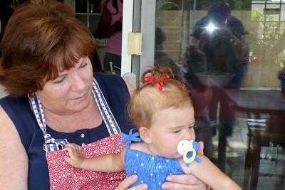Grandma and Hadley Rose