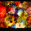 Chihuly Garden and Glass exhibit at the Seattle Center.