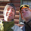 Our 1st ski trip together to Sun Valley in 2004.   Justin is pictured here with Shuman.