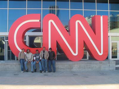 At CNN Centerv- Aarthi, Deb, Bheem, Arun and Mukhil