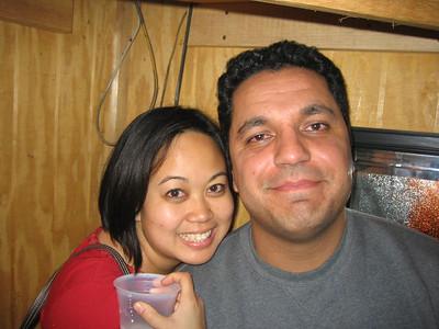 Jackie and Yama.
