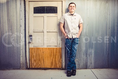 Kade SpainHower Senior Portrait Session
