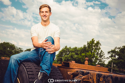 062817 Kade Skokan Senior Portrait Session