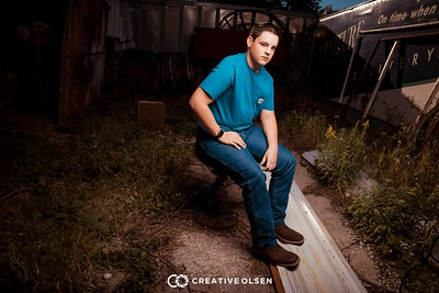 100417 Kade Westervelt Senior Portrait Session Creative Olsen