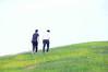 Zhang and Fumiya at Gasworks Park