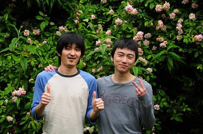 Kenichi and Robin - 2010
