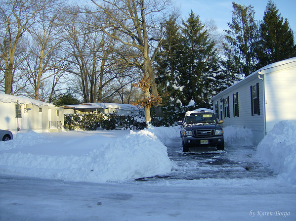 Driveway & Snow!<br /> December 19, 2009 Blizzard