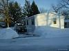 My shoveled driveway.<br /> December 19, 2009 Blizzard