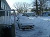my poor car!<br /> December 19, 2009 Blizzard