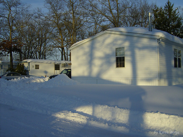 Snow everywhere!<br /> December 19, 2009 Blizzard