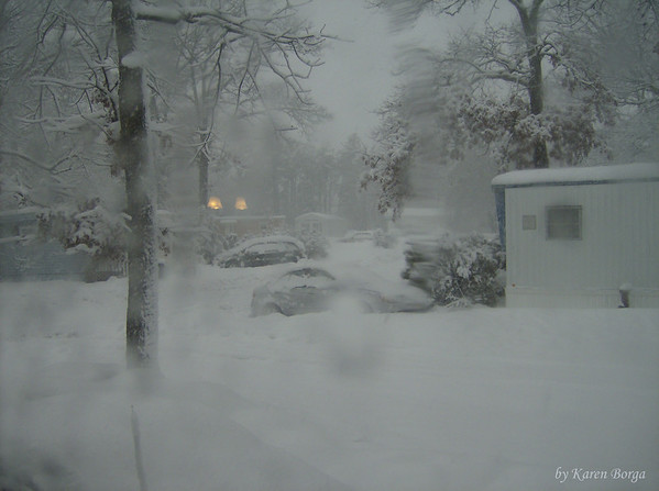 the snow just keeps coming down.<br /> February 10, 2010 Blizzard