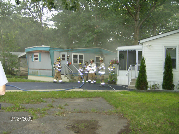 Karen's Neighbor's Mobile Home Fire