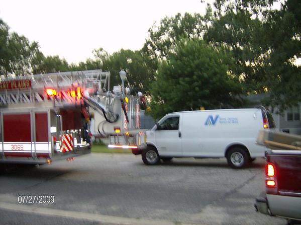 Karen's Neighbor's Mobile Home Fire