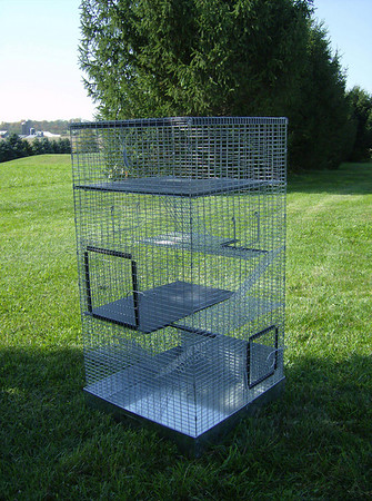 Custom Cage multiple levels