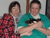 Karen & Gwen and four puddin rats