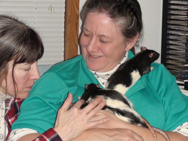 Karen, Gwen, 34, 10 and 38! awwww.