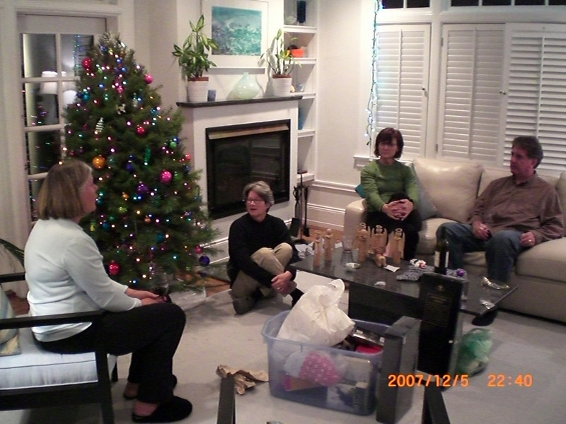 Jeanie, Nancy, Karen, & Scott