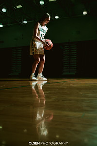 Kate Cogswell Basketball & Track and Field Photos