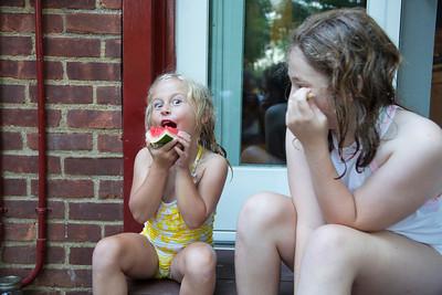 Katerine and Daisy July 2017