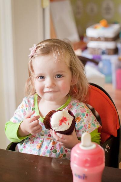 birthday cupcakes chez mcgill