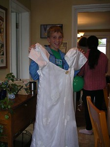 Zack's halloween costume