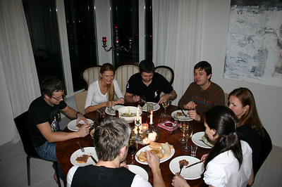Kodune õhtusöök Kadriorus