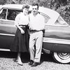 bobs brother Tom and wife  JEAN  PICTURE FROM AROUND 1956  WHAT YEAR IS THE CAR?
