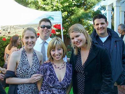 Cal Poly friends -- Ari, Mark, Crissy, Trisha, and Jason