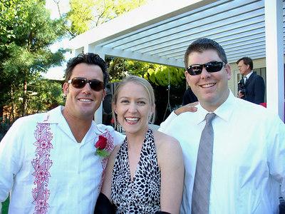 Hank, Ari, Mark
