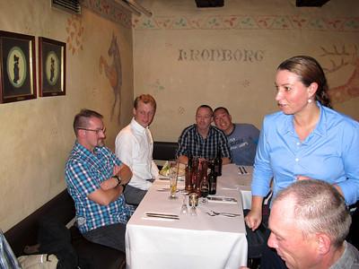 Mortensaften 2011 Kulturkanonen holder Mortens aften på Restaurant Kronborg