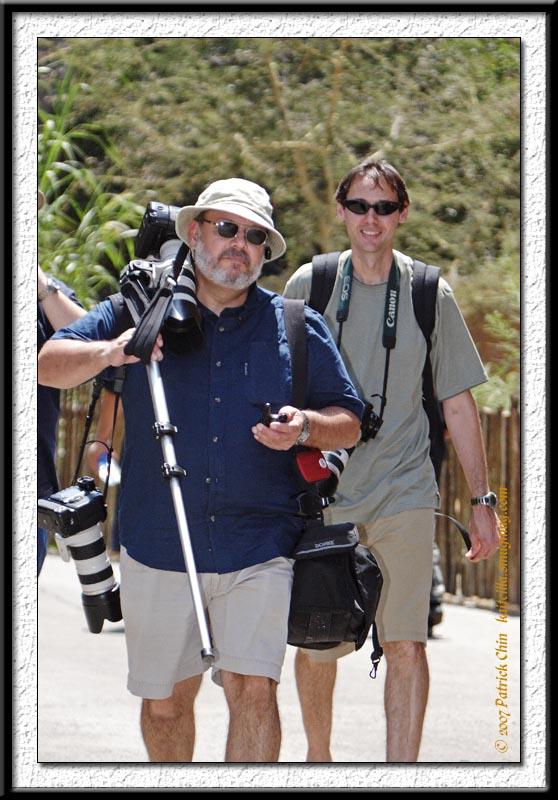 Gary and Chris at LA Zoo.