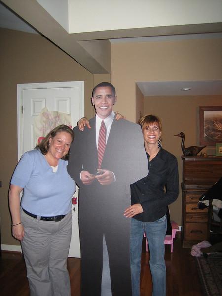 Amy, Barack, Dawn.