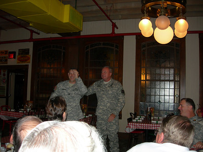LTC Scott Thomas' Farewell Luncheon