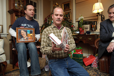 Looks like Will wanted the cow. Michael won't be keeping the framed shot of Cricket. Wayne won't be keeping the books.