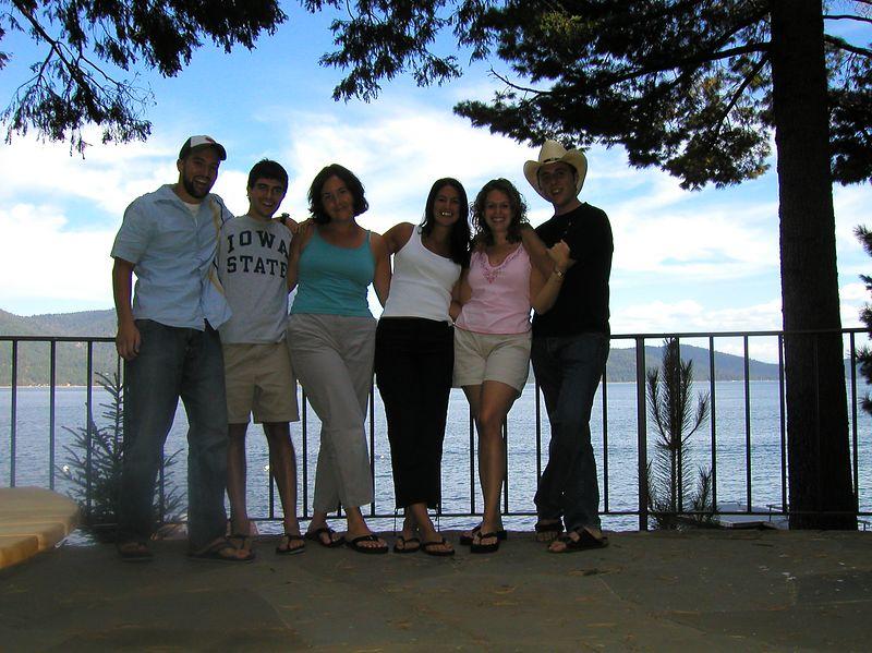 LTR: Jim, Marc, Michelle, Celeste, Anne, Paul