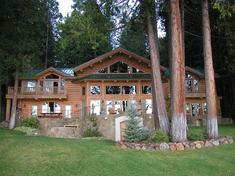 Then we moved to this amazing cabin in the Northern Californian Mountains