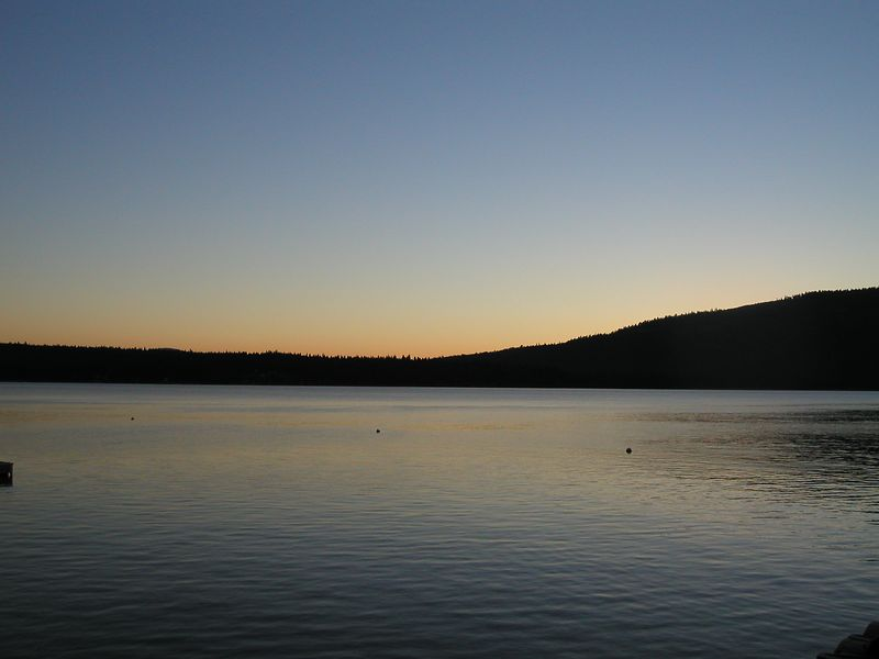 Situated on Lake Almanor