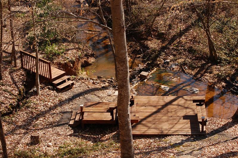 Jake's creekside hangout