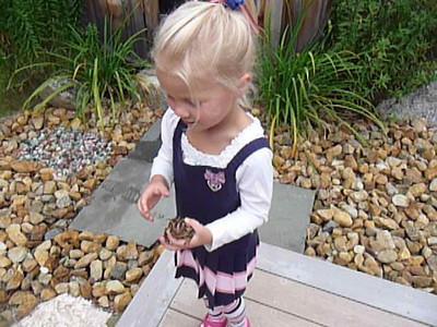 Laska's Visit 9-11-2011