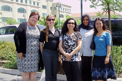 Friends for lunch MP, Suzanne, Mimi, Rajaa, Chisa